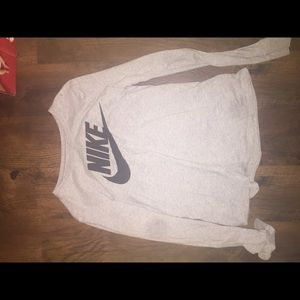 Nike men small long sleeve -women large